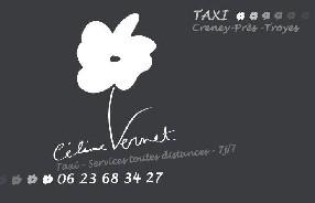 Céline Vernet Taxi Troyes