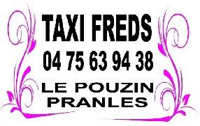TAXI FREDS Le Pouzin