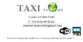 TAXI Favoris 7 places Auneuil