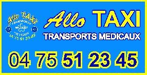 ALLO TAXI & Transports Médicaux Montélimar