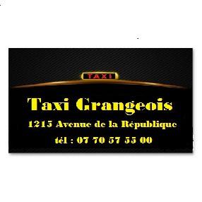 logo TAXI GRANGEOIS