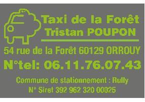 Taxi de la forêt Orrouy