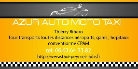 AAMT Azur Auto Moto Taxi Peymeinade