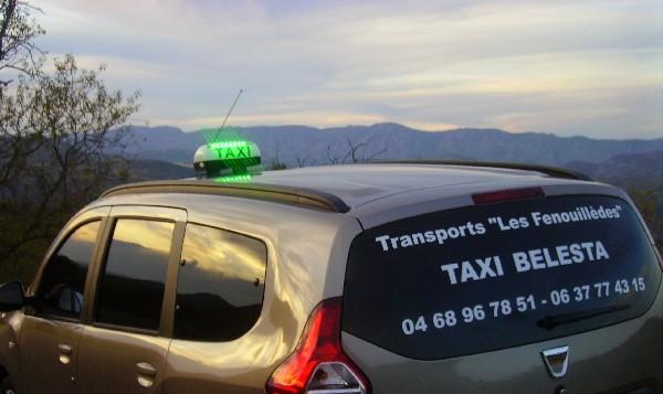 "Transports Les Fenouillèdes ""TAXI BELESTA"" Bélesta"